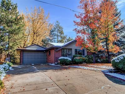 Centennial Single Family Home Under Contract: 6480 South University Boulevard