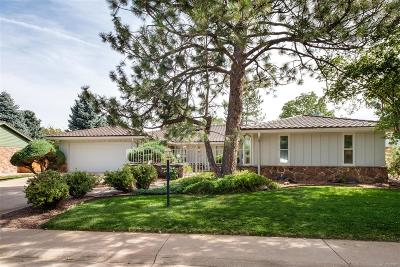 Denver Single Family Home Active: 3874 South Peach Way