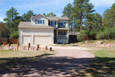 Palmer Lake Single Family Home Under Contract: 18690 Cloven Hoof Drive
