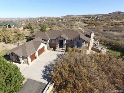 Castle Rock Single Family Home Active: 4078 Enchantra Circle