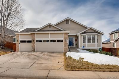 Highlands Ranch Single Family Home Under Contract: 9721 Westbury Way