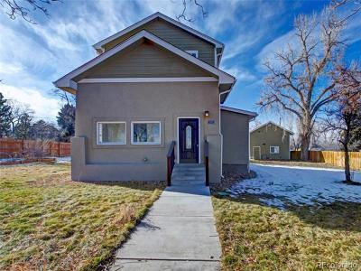 Wheat Ridge Single Family Home Active: 3301 Chase Street
