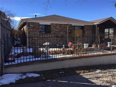 Denver Single Family Home Active: 665 Newton Street