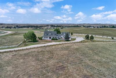 Elbert County Single Family Home Under Contract: 43312 Pearson Ranch Loop