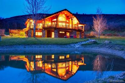 Steamboat Springs Single Family Home Active: 44500 Diamondback Way