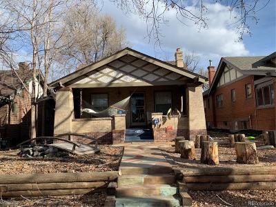 Denver Single Family Home Under Contract: 654 South Gilpin Street