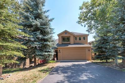 Golden Single Family Home Under Contract: 24138 Deer Valley Road