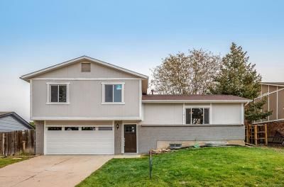 Littleton Single Family Home Under Contract: 7630 South Garland Street