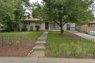 Westminster Single Family Home Under Contract: 8530 Circle Drive