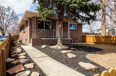Denver Single Family Home Active: 4801 Lowell Boulevard