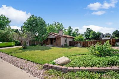 Littleton Single Family Home Under Contract: 8805 West Ottawa Avenue