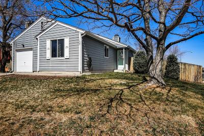 Aurora Single Family Home Under Contract: 17999 East Cornell Drive
