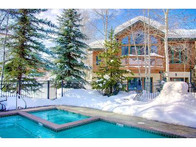 Steamboat Springs Condo/Townhouse Under Contract: 2590 Evergreen Lane #6