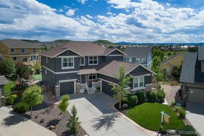 Castle Rock Single Family Home Active: 3544 Tribute Place