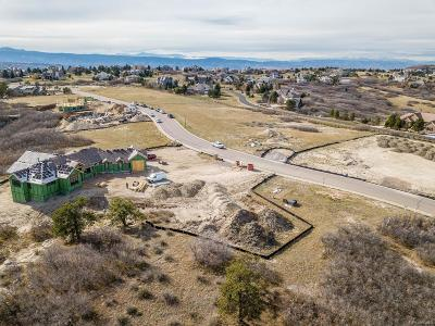 Castle Rock Residential Lots & Land Active: 1620 White Fir Terrace