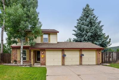 Littleton Single Family Home Active: 11486 West La Garita Pass