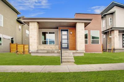 Denver CO Single Family Home Active: $550,392