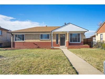 Denver Single Family Home Active: 3525 Glencoe Street