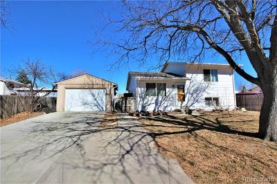 Aurora CO Single Family Home Under Contract: $267,000