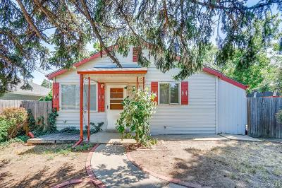Wheat Ridge Single Family Home Under Contract: 5890 West 41st Avenue
