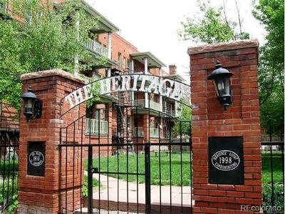 Cap Hill/Uptown, Capital Hill, Capitol Hill Condo/Townhouse Active: 1376 Pearl Street #B4