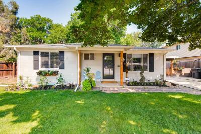 Arvada Single Family Home Under Contract: 5630 Dover Street