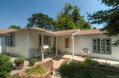Wheat Ridge Single Family Home Under Contract: 3906 Quay Street