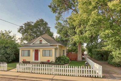Longmont Single Family Home Active: 836 15th Avenue