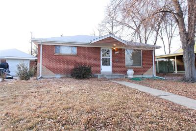 Denver Single Family Home Active: 7111 Alan Drive