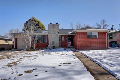Denver Single Family Home Active: 1526 South Jersey Street