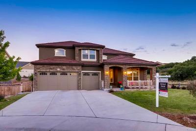 Castle Rock CO Single Family Home Active: $799,900