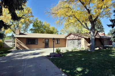 Denver Single Family Home Under Contract: 2635 South Zurich Court