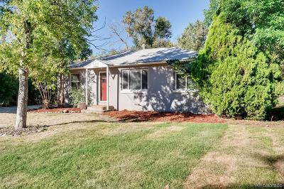 Arvada Single Family Home Active: 5165 Dudley Street