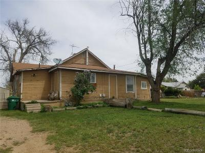 Commerce City Single Family Home Under Contract: 6521 East 70th Place