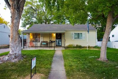 Denver Single Family Home Active: 4625 East Bails Place