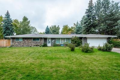 Golden Single Family Home Active: 13800 Braun Road