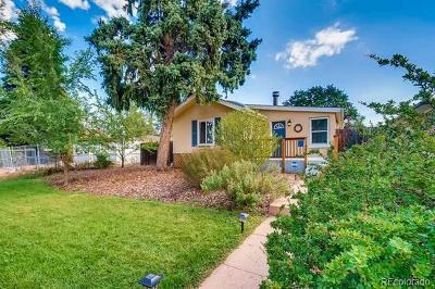 Denver Single Family Home Active: 1608 Uinta Street