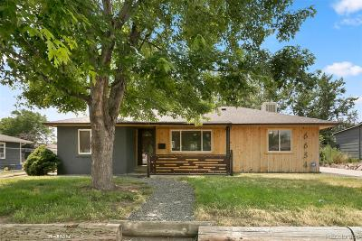 Wheat Ridge Single Family Home Under Contract: 6634 West 45th Avenue
