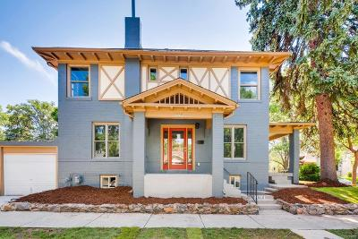 Denver Single Family Home Under Contract: 1010 East 5th Avenue