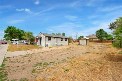 Commerce City Single Family Home Active: 7180 Birch Street