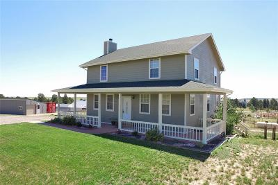 Kiowa CO Single Family Home Active: $474,900