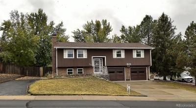 Castle Rock Single Family Home Active: 212 Elm Avenue