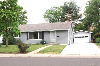Single Family Home Under Contract: 2585 South Birch Street