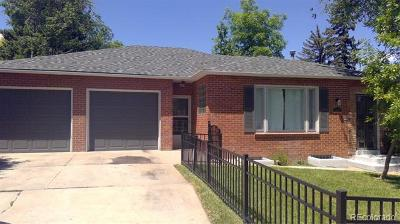 Denver Single Family Home Active: 1355 North Quebec Street