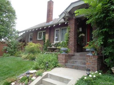 Denver Single Family Home Active: 2601 North Clayton Street