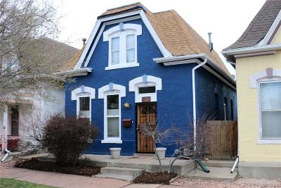Denver Single Family Home Under Contract: 1026 29th Street