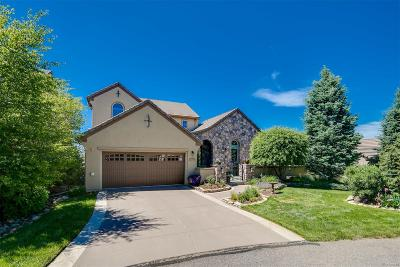 Castle Rock CO Single Family Home Under Contract: $800,000