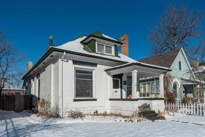 Denver Single Family Home Active: 669 South Lincoln Street