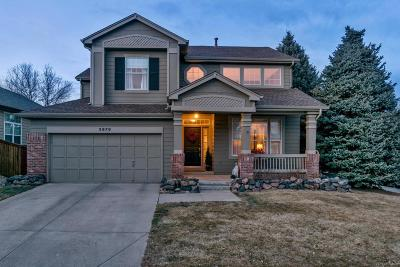 Highlands Ranch Single Family Home Under Contract: 3979 Mallard Drive