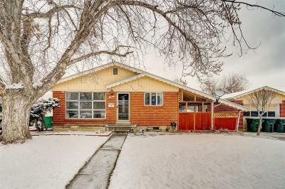 Northglenn Single Family Home Under Contract: 125 East 106th Place